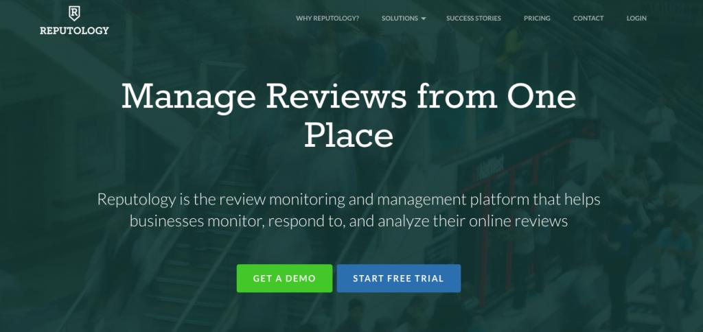 reputology - social media analysis tools