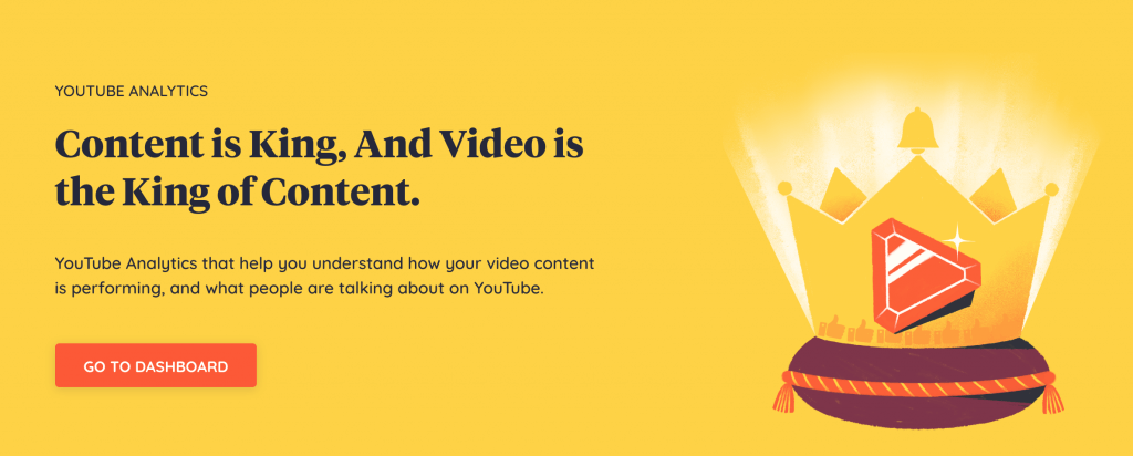 youtube analytics: content is king keyhole banner