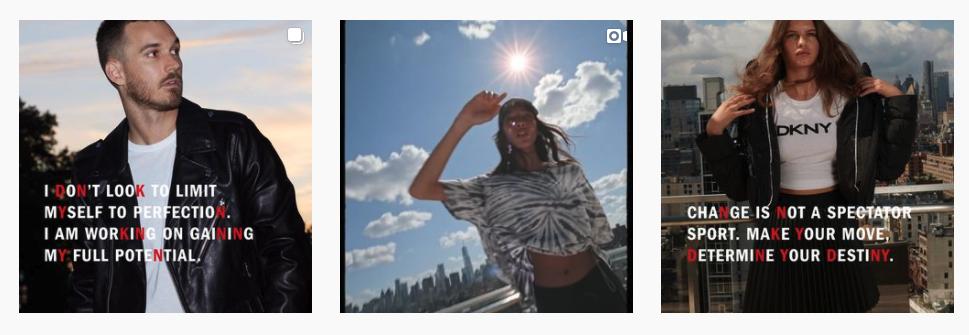 DKNY State of Mind Fashion Social Media
